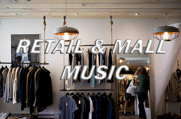 High - end retail shop in-store music